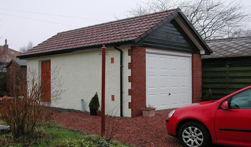 Brick Garage Designs Garage Garage Brick Effect Concrete